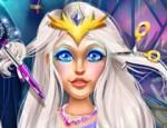 لعبة قص شعر حقيقي لملكة الثلج